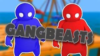 getlinkyoutube.com-LOS MONIGOTES LUCHADORES!! XDD 2.0 - Gang Beasts - NexxuzWorld