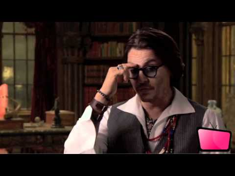 Johnny Depp - Dark Shadows Interview [HD]