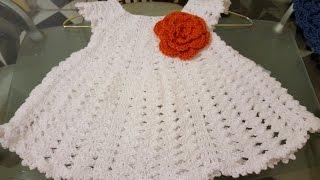 getlinkyoutube.com-👭Vestido en crochet (ganchillo) para niña