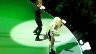 getlinkyoutube.com-Rolling Stones Pru Center Dec 15 2012 Gimme Shelter w/ Lady Gaga