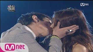 2015 MAMA T.O.P of BIGBANG Kissed Hyori Lee (2008 MKMF) 151201 EP.7