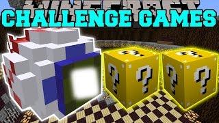 getlinkyoutube.com-Minecraft: MUTANT EYE CHALLENGE GAMES - Lucky Block Mod - Modded Mini-Game