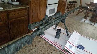 getlinkyoutube.com-How to Spray Paint Camouflage Any Gun