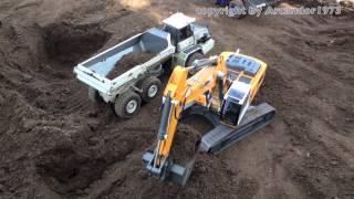 getlinkyoutube.com-Best of RC Excavator Liebherr in Action - Big RC Fun!