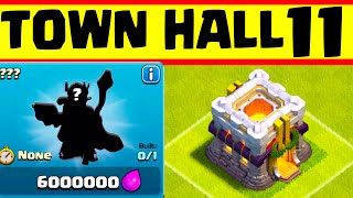 getlinkyoutube.com-Clash of Clans Update: Clash of Clans TOWN HALL 11 CONFIRMED ♦