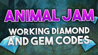 getlinkyoutube.com-ANIMAL JAM - DIAMOND & GEM CODES 2016!