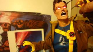 getlinkyoutube.com-Cyclops Sideshow Exclusive Premium Format Statue by Sideshow Collectibles
