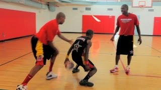 How to Spin Back Dribble | Basketball