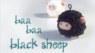 "getlinkyoutube.com-""Baa Baa Black Sheep"" Polymer Clay"