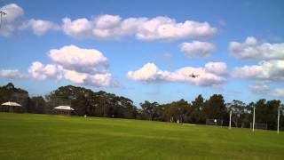 High speed flying with the Armattan Quad