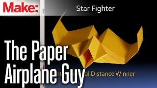 getlinkyoutube.com-The Paper Airplane Guy