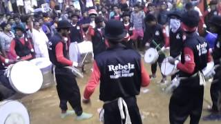 getlinkyoutube.com-Rebelz Nazik Dhol Thrissur Eravimangalam