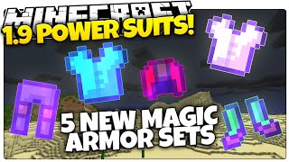 getlinkyoutube.com-Minecraft 1.9 | MAGIC POWER SUITS | Jetpacks, X-Ray, & More Armor! (Minecraft Custom Command)