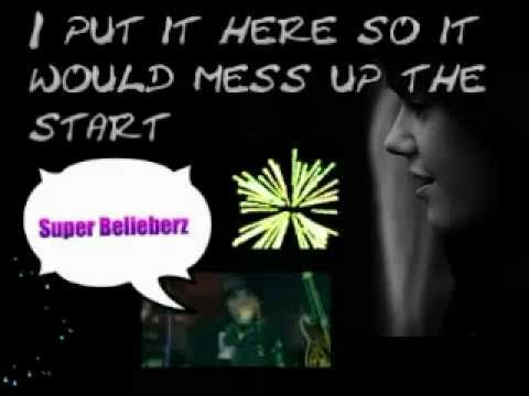 Justin Bieber- Swag So Mean Lyrics