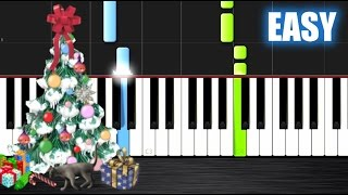 getlinkyoutube.com-We Wish You A Merry Christmas - EASY Piano Tutorial by PlutaX - Synthesia