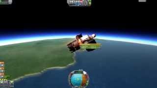 getlinkyoutube.com-Kerbal Space Program - Lawnch Chair - 2.9t Crewed Minmus Mission