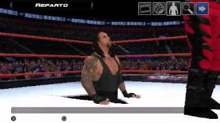 getlinkyoutube.com-Smackdown! Vs. RAW 2011 Undertaker Attacks Masked Kane