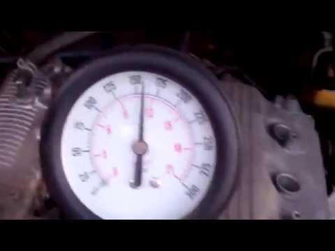 Замер компрессии G13B после ремонта