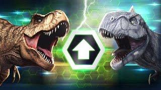 getlinkyoutube.com-BOOSTED BATTLE EVENT - Jurassic World The Game