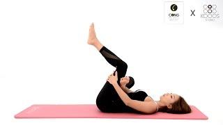 getlinkyoutube.com-허리 통증을 완화시켜주는 스트레칭 / 골반교정, 척추교정 스트레칭-콩필라테스