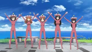 getlinkyoutube.com-Girls und Panzer Anglerfish Dance (Full Version)