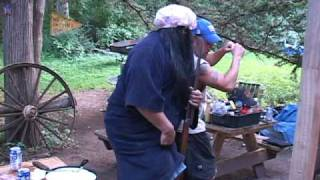 Bitchin' Burgers on the Grill by the BBQ Pit Boys