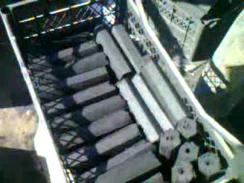 mangal ve nargile  kömürü makinası