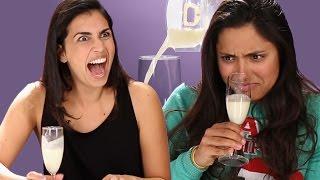 Adults Try Human Breast Milk