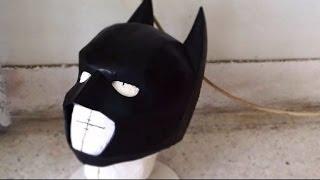 getlinkyoutube.com-#26: Batman Cowl Part 3 - Sanding & Painting (with template) | How To | Dali DIY