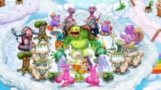getlinkyoutube.com-My Singing Monsters: Dawn Of Fire - Cloud Island (Full Song) (1.8.0)
