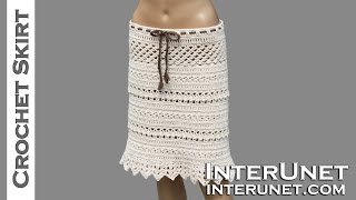 getlinkyoutube.com-Lace skirt crochet pattern