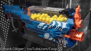 getlinkyoutube.com-Nerf Rival Nemesis   Toy Fair Demo & Analysis