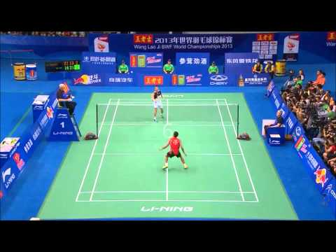 Top 20 men's singles rallies 2013 bwf world championships