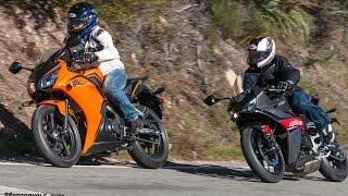 getlinkyoutube.com-2017 Honda CBR300R vs. Hyosung GD250R