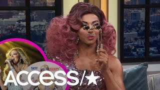 'RuPaul's Drag Race's' Shangela Reads Mariah Carey, Trixie Mattel & More! | Access