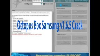 Octopus Box Samsung v1.6.5 Crack || Best Samsung Flash Tools Free