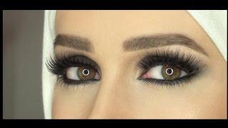 getlinkyoutube.com-Smokey Eye using Samer Khouzami method...مكياج سموكي بطريقة سامر خزامي
