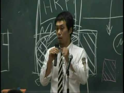 与国秀行 in 早稲田キャンパス 2009,6,9