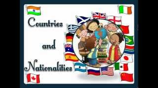 getlinkyoutube.com-Countries and Nationalities (with sound) - English Language