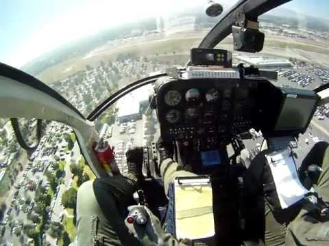 GoPro MD500 Low level and landing