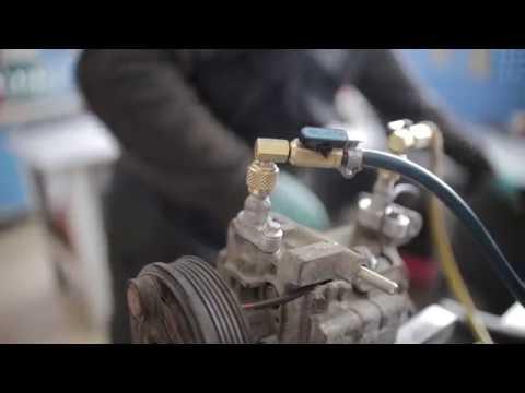 Ремонт компрессора кондиционера Мазда.