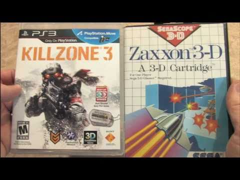 Classic Game Room - KILLZONE 3 vs. ZAXXON 3-D packaging review