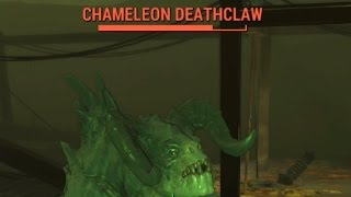 getlinkyoutube.com-Fallout 4 - Where To Find Chameleon Deathclaws (Location Of Chameleon Deathclaws)