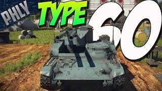 getlinkyoutube.com-2 GUNS 1 TANK - Type 60 Recoilless GUN (War Thunder Japanese Tanks Gameplay)
