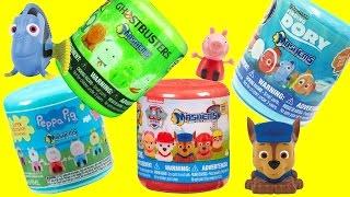 getlinkyoutube.com-Mashems Surprises Finding Dory Peppa Pig Paw Patrol Ghostbusters Toys Surprise Eggs Video!!!