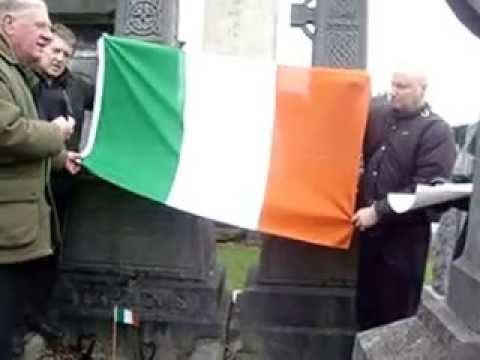 At The Graveside of James Stephen's, Glasnevin, Cemetary, 17th March, '15