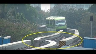 getlinkyoutube.com-MUMBAI MONORAIL - Dont Miss The End & See Something called TURNOUT, Never Seen Before