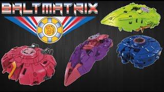 getlinkyoutube.com-Mini-Con Slipstream, Sawback, Dargonus & Divebomb - Transformers Robots in Disguise