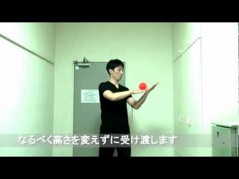 コンタクトジャグリング基礎練動画~バタフライ・手元のロール~