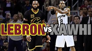 getlinkyoutube.com-Kawhi Leonard & LeBron James Battle in Cleveland   01.21.17